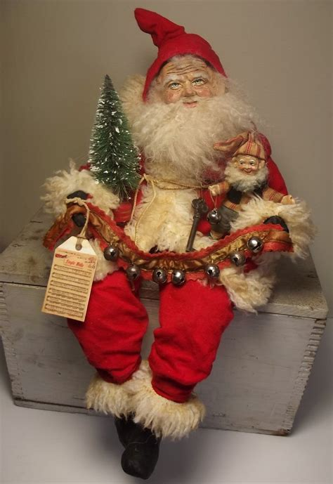 Handmade Santa Dolls - 243 best santas images on