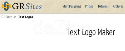 desain logo teks online kumpulan 10 free logo teks generator online modifikasi