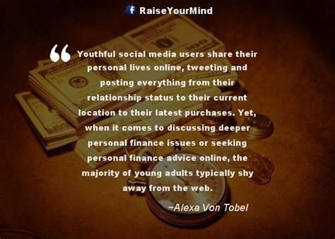 finance quotes sayings youthful social media users share  personal lives