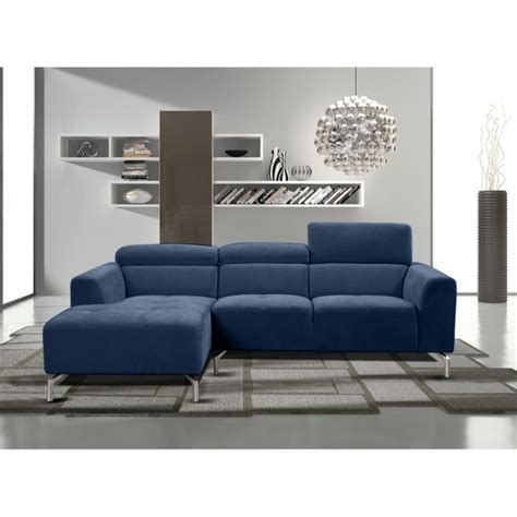 Navy Blue Sectional Sofa Navy Blue Sectional Sofa With Chaise Gemma Sectional Sofas With Adjustable Headrests Picture 10