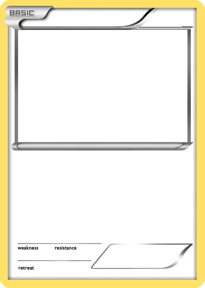 pokemon card templates www pixshark com images