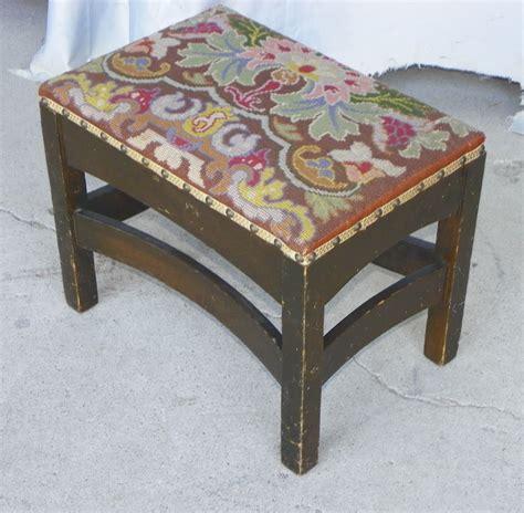 mission style ottoman footstool bargain john s antiques 187 blog archive mission oak arts
