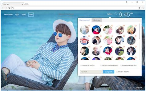 gmail themes kpop min yoongi suga hd wallpaper bts new tab chrome web store