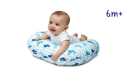 cuscino boppy chicco boppy pillow with cotton slipcover boppy official