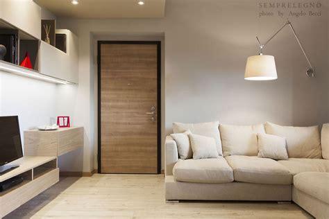mobili soggiorno su misura soggiorno design con cucina a vista e da letto