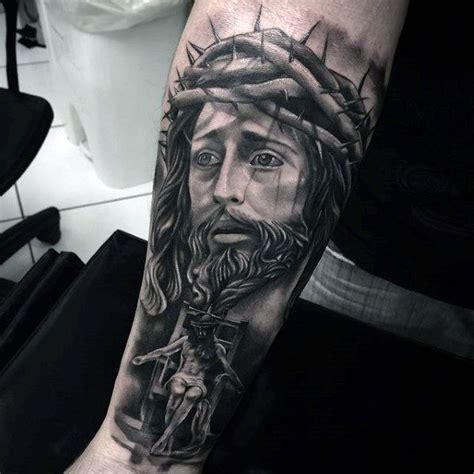tattoo punggung 100 jesus tattoos for men cool savior ink design ideas