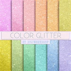 is glitter a color colorful glitter digital paper quot color glitter quot set consis