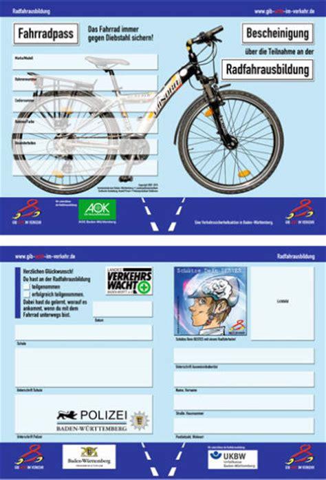 Aufkleber Verkehrssicheres Fahrrad by Radfahrausbildung