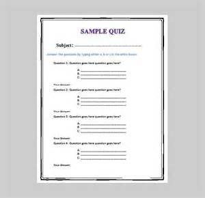 choice quiz template 5 best free business quiz templates free premium templates