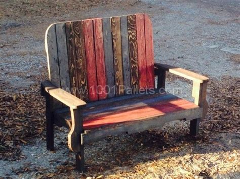 rustic benches from reclaimed pallets 1001 pallets 32 best rustic furniture designs images on pinterest