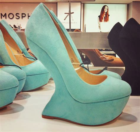 primark mint suede effect wedge pumps gt shoeperwoman