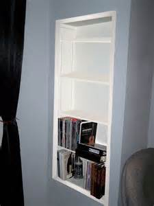 recessed wall shelves how to create recessed shelving