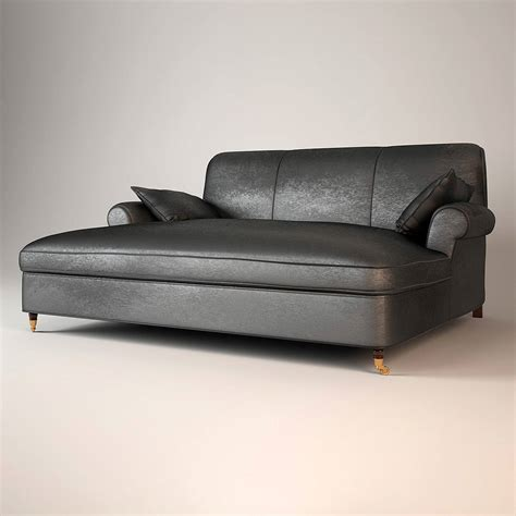 Baxter Sofa by Baxter Sofa Dormeuse 3d Model Max Obj Cgtrader