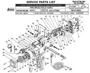 milwaukee 1675 1 parts list and diagram ser 413 177000 ereplacementparts