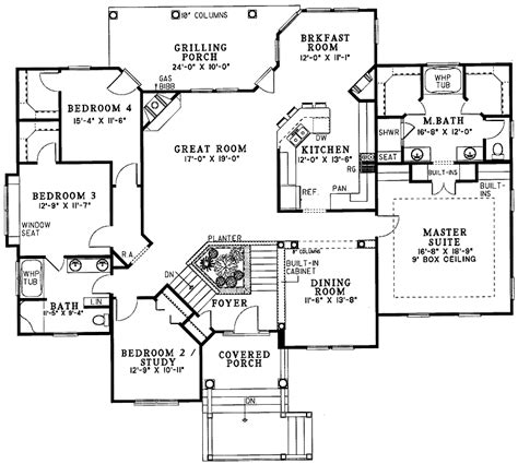 4 bedroom split floor plan 301 moved permanently