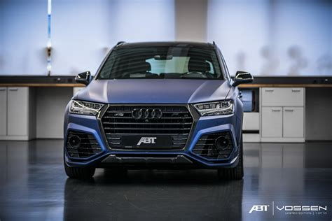 Audi A4 Abt Tuning by Tuning Audi Sq7 Abt 2018 Front