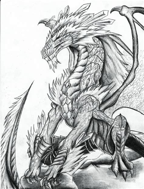 the best drawings of dragons best dragon drawings 187 coloring pages kids