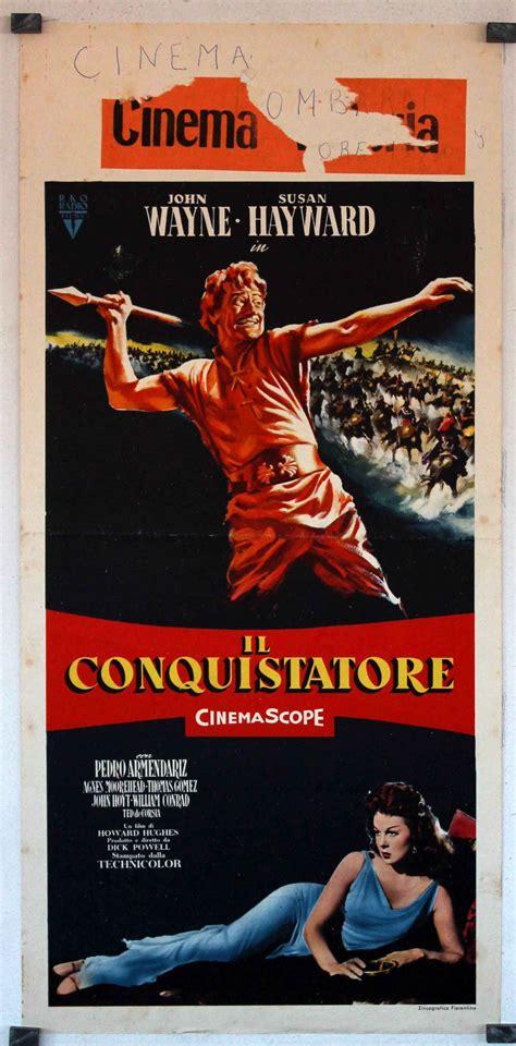 film thor il conquistatore quot il conquistatore quot movie poster quot the conqueror quot movie poster