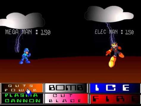 game rpg mega mod flash games s01e03 megaman rpg youtube