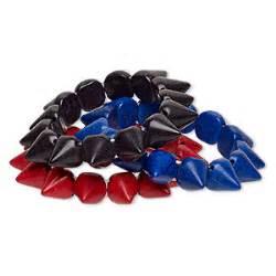 Cl Spike Circle bracelet stretch turquoise imitation blue