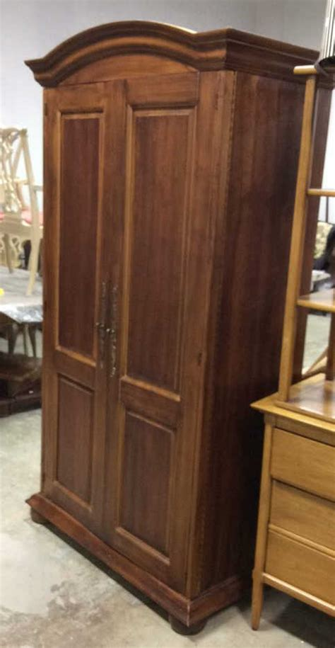 armoire shelves walnut two doored armoire armoire with shelves but also open