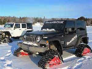 Tracks For Jeep Mountain Grooming Equipment 187 Powertrack Track Systems For