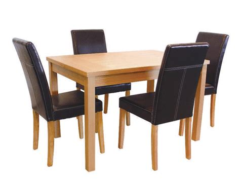 Childrens Wooden Kitchen Furniture oakridge dining table amp 4 chairs