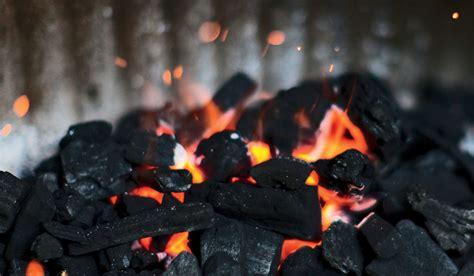steps  making   charcoal  smoking chunks