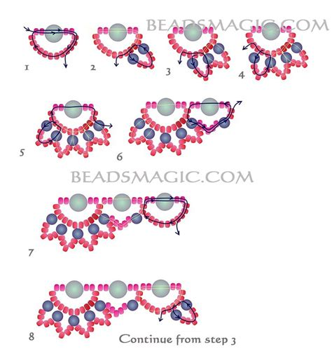 pattern magic tutorial 7114 best beading jewelry making techniques images