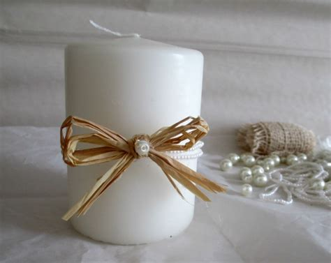 Candele San Valentino - candele shabby chic per san valentino