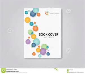abstract book and brochure cover template design editable