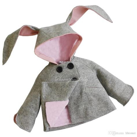 New Jaket Hoodie Rabbit Kid Murah Jackets New Honey Bunny Coat Rabbit Jacket Design