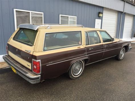 Cadillac Station Wagon 1977 Cadillac Station Wagon 1 Of 1 Produced