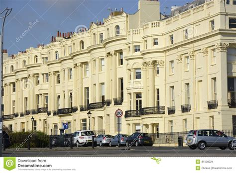 appartments in brighton apartment buildings in brighton england editorial stock