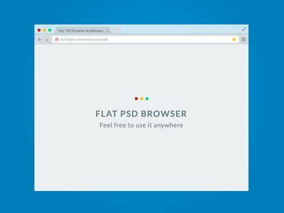 flat design browser mockup 22 free web browser mockups psd ai