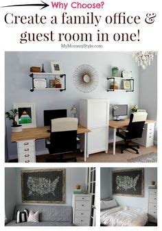 guest bedroom office ideas 1000 ideas about guest room office on pinterest guest rooms offices and murphy beds