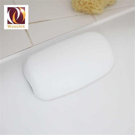 headrest for bathtub headrest bathtub tub whirlpool white with suction cups new