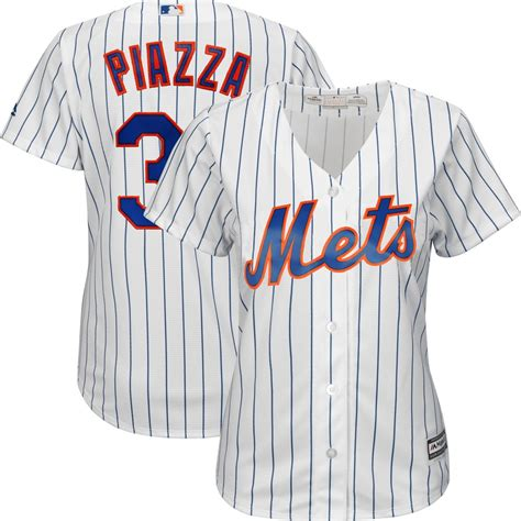 2015 mike piazza majestic new york mets home white cool