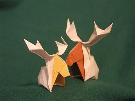 Origami Moose - origami moose wedding stuff