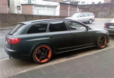 Audi Rs6 R Mtm by Audi Rs6 R By Mtm La Grande Noire Mate Avec Des