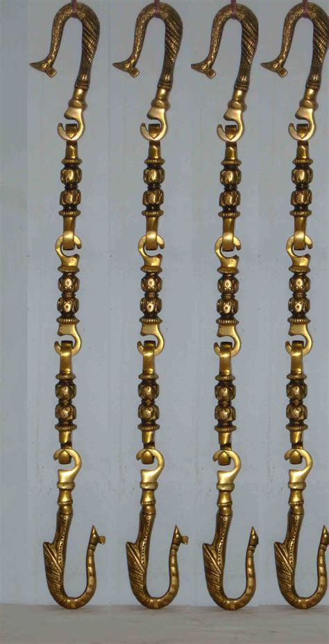 swing chain porch swing chain set brass made with flowers design buy