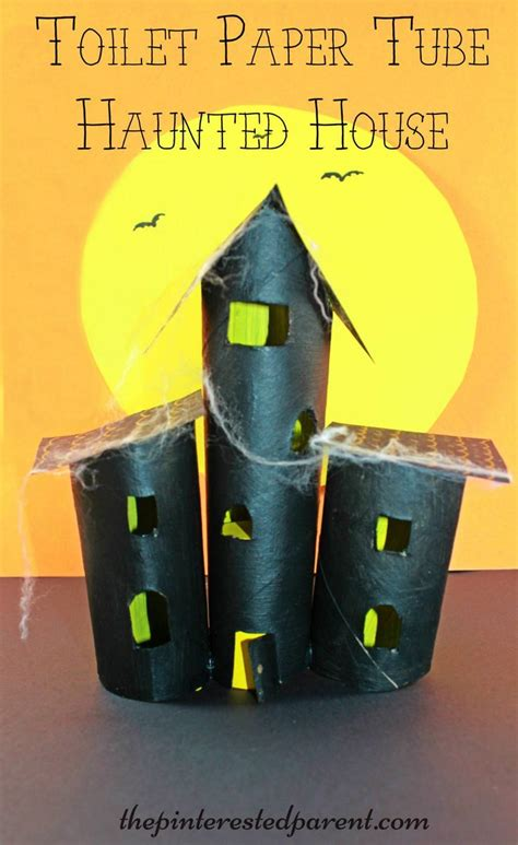 haunted house craft best 25 spooky house ideas on pinterest halloween