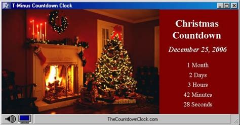 wallpaper christmas countdown free christmas countdown computer wallpaper software