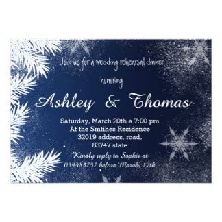 Come With Me Winter Dinner Invites by Wedding Invitations With Winter Designs At Zazzle