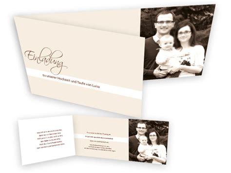 Einladungskarten Hochzeit Und Taufe spezielle einladungskarten f 252 r eine hochzeit mit taufe