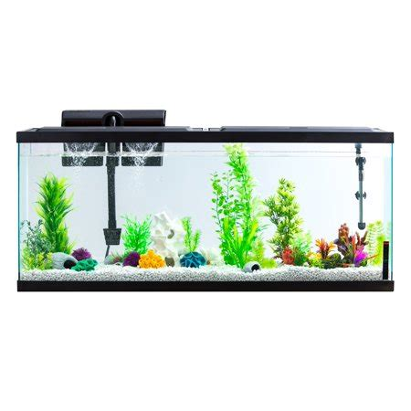 Stand Galon Aqua bundle save aqua culture 55 gallon aquarium with stand