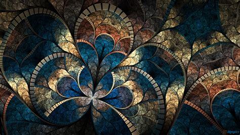 beautiful pattern wallpaper hd fractal abstract patterns wallpaper 1600x900 10465