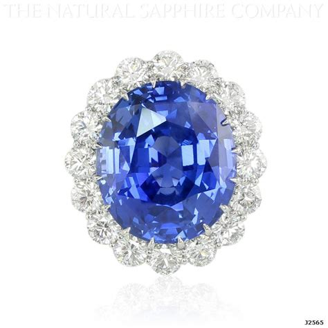 Royal Blue Saphire 69ct royal blue sapphire ring a sapphire ring fit for a