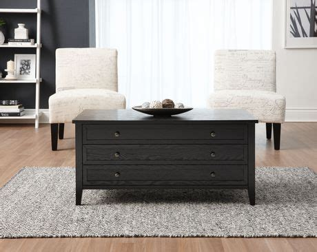 coffee table with drawers canada hometrends 2 drawers coffee table walmart canada