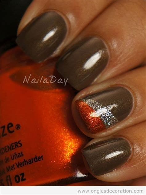 Deco Ongle Automne by Deco Ongles En Gel Automne 2013